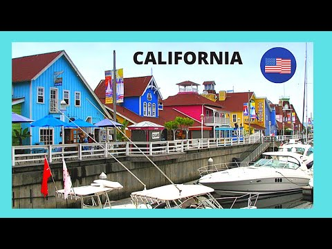 Long Beach Beautiful Sline Village In California Usa