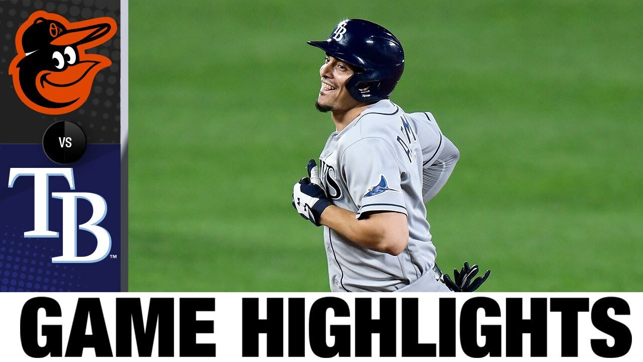 The Rays rally in the 5th for the 10-6 win in Game 2 | Orioles-Rays Game 2 Highlights 9/17/20