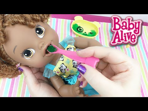 Crawling Baby Alive Go Bye Bye Doll Morning Routine Fee