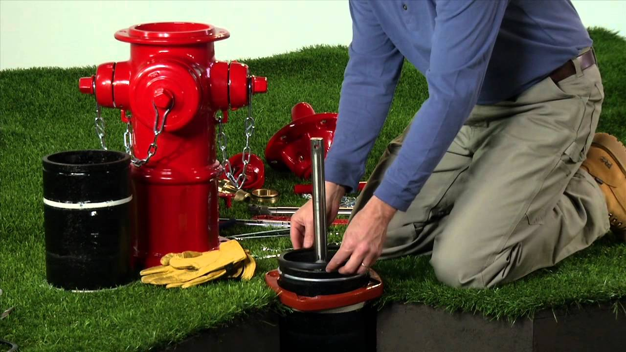 American Avk How To Install A Hydrant Extension Kit Youtube