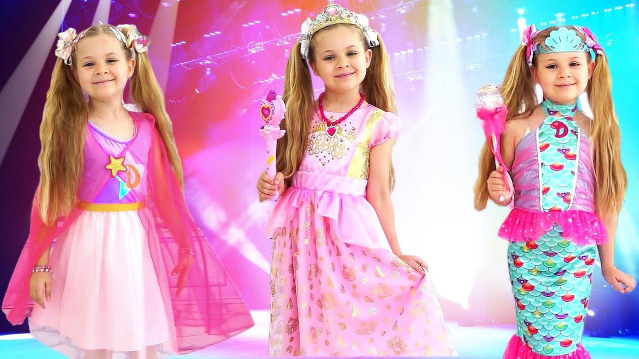 Диана что играет в Показ Мод. Новые Платья Love, Diana для девочек