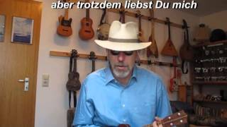"""""""Was hat der Junge doch für Nerven"""" - DÄ Cover mit Ukulele"""