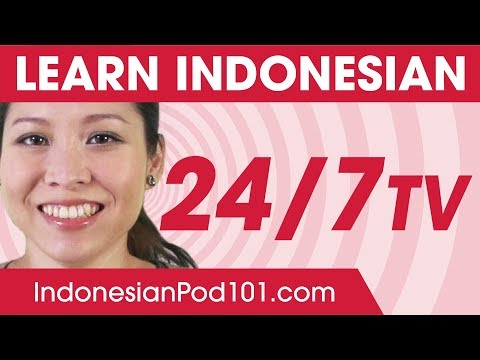 Learn Indonesian in 24 Hours with IndonesianPod101 TV