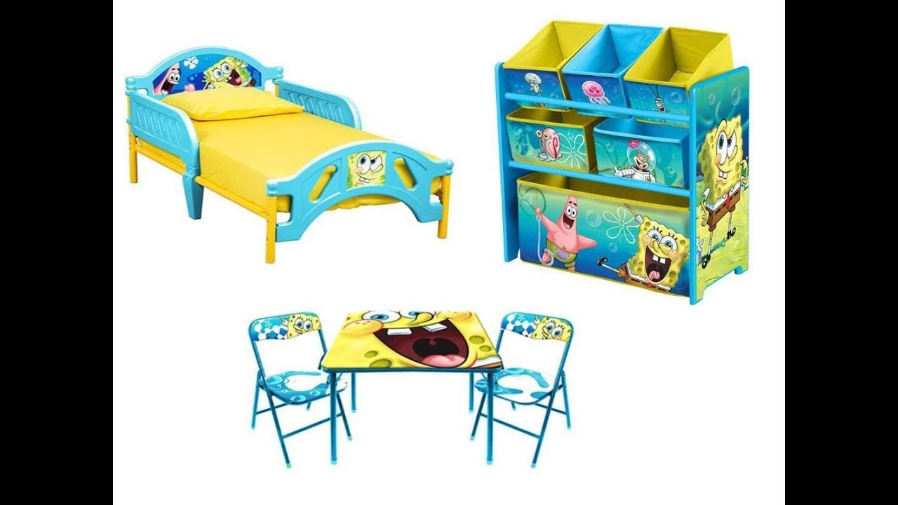 Spongebob Squarepants Bedroom set - YouTube