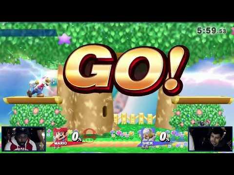 SOT #90 - Blacktwins (Cloud, Mario) vs Yoh (Sheik) - Smash 4 Grand Finals