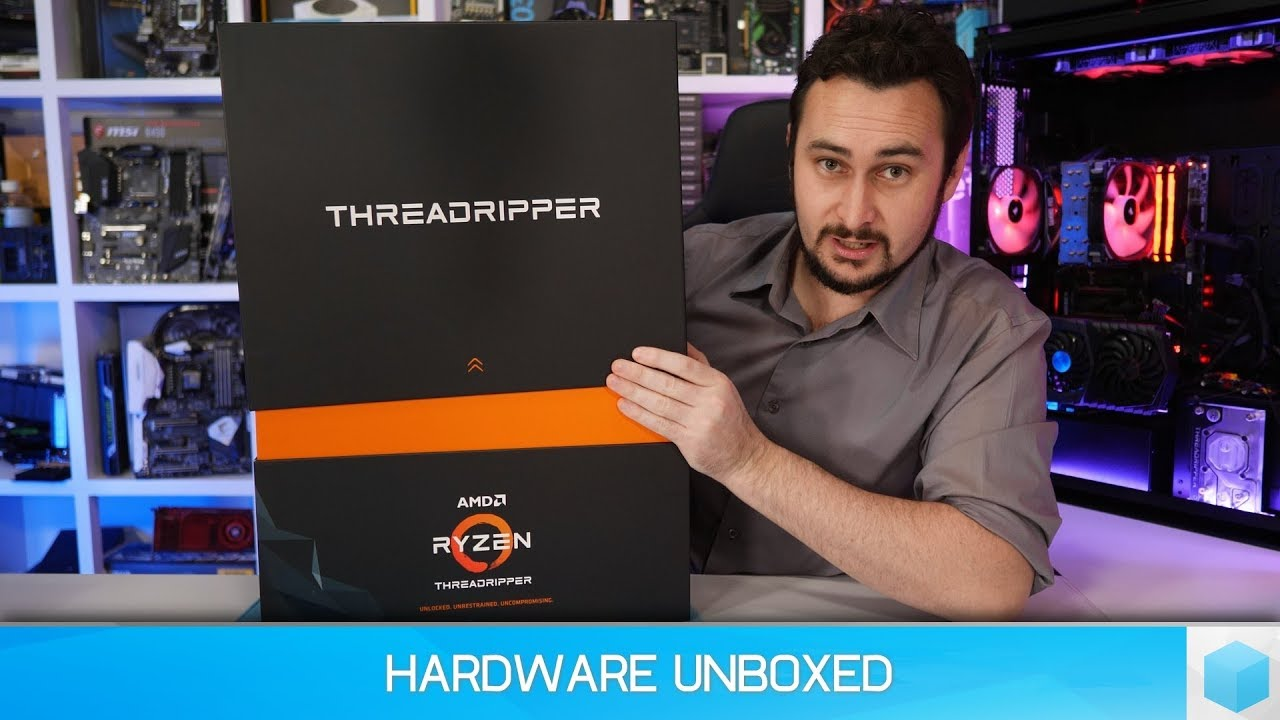 Threadripper 2990WX (32-core) Unboxing, Pricing & Availability