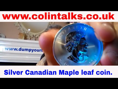 Why you should start collecting, silver Canadian Maple leaf coins.