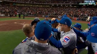 Chapman earns save, Cubs advance to NLCS