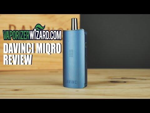 Davinci Miqro Vaporizer Review [4k Video] - Best Dry Herb Vape Under $150? - VaporizerWizard.com