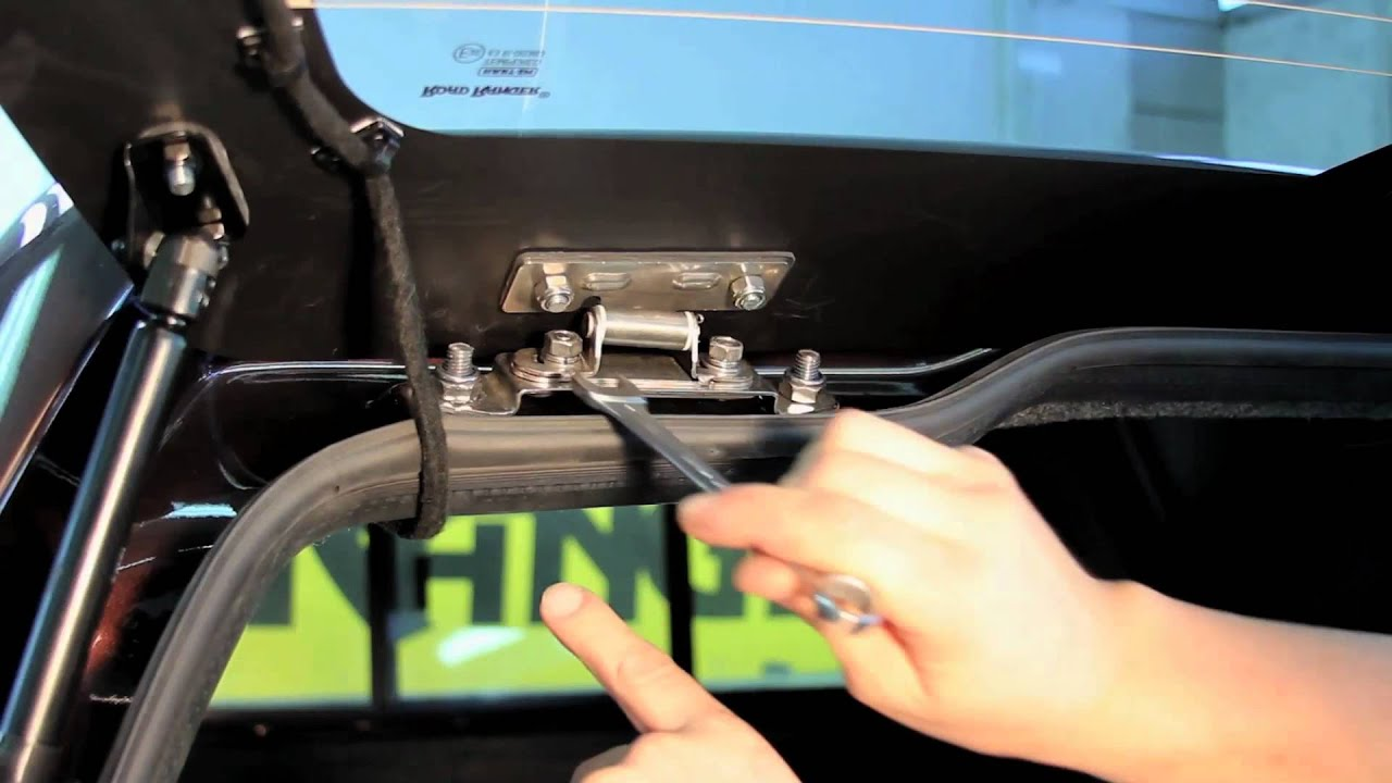Ht Tailgate Adjustment With Adjustable Hinges Youtube
