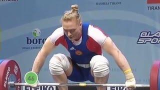 2013 European Weightlifting Championships, Women 69 kg \ Тяжелая Атлетика. Чемпионат Европы