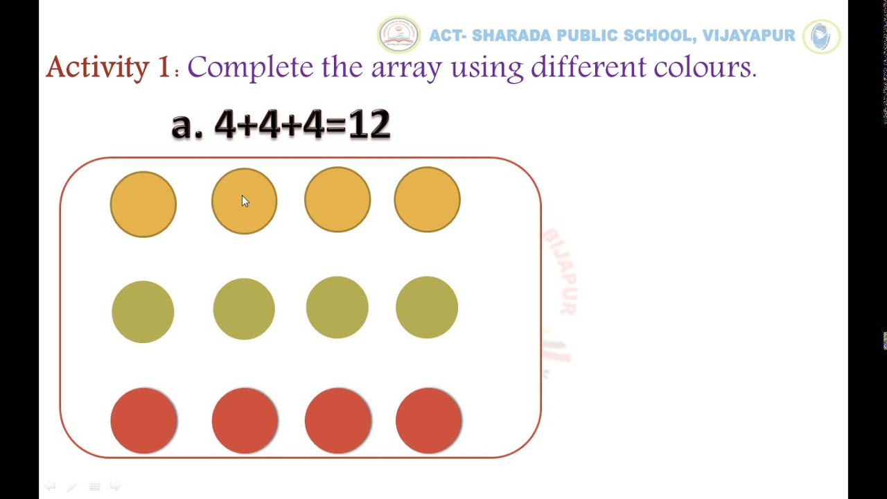 hight resolution of GRADE-3-MULTIPLICATION WORKSHEET- 4 ACTIVITY-1 and 2 - YouTube