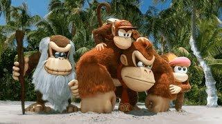 任天堂のWiiUソフト「ドンキーコングトロピカルフリーズ」(Donkey Kong...