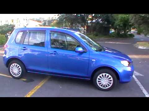 mazda demio 2003 46km 1 3l auto youtube. Black Bedroom Furniture Sets. Home Design Ideas