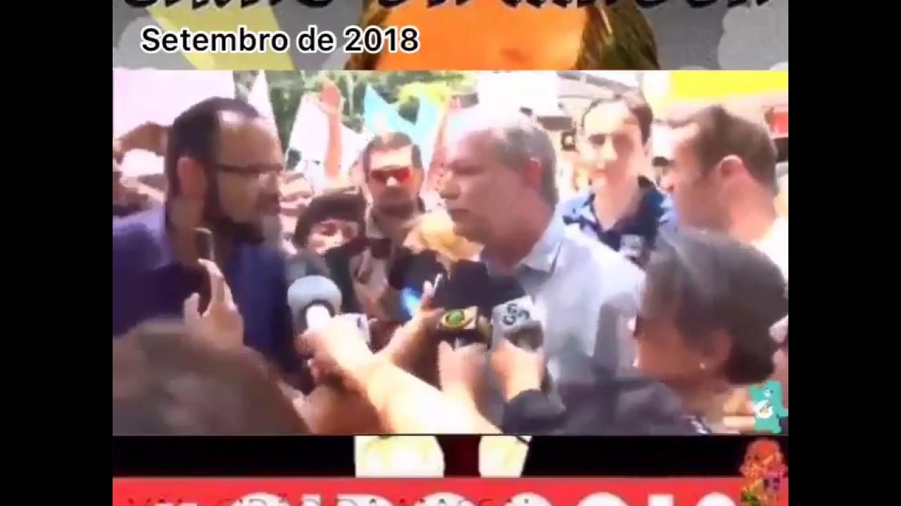 Máscara de Ciro Gomes cai após pergunta de repórter (isso a mídia não mostrará)!