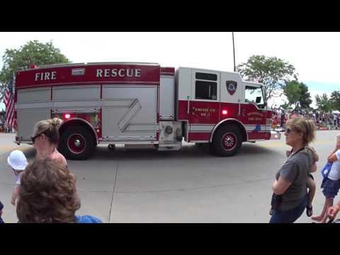 2434 independence day parade Sheboygan Wisconsin