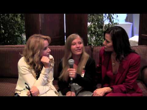 Lea Thompson and Constance Marie Interview at Hooray for Hollywoof the Sequel