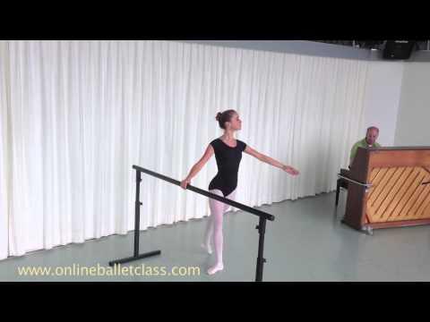 I'm a ballerina now - Rond de Jambe a terre