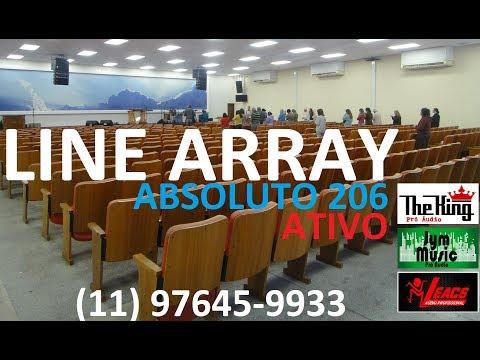 LINE ARRAY LEACS ABSOLUTO PACK - IGREJA DA GRAÇA - Compre Agora 11-97645-9933