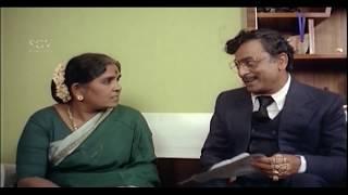 Puneeth Rajkumar teasing Dr.Rajkumar with Saritha   Ultimate Comedy Scenes in Kannada Movie