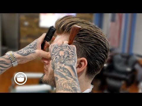 Barber Overhauls the Style of Victor Berzinsky (Formerly Known as The Son of Greg Berzinsky)