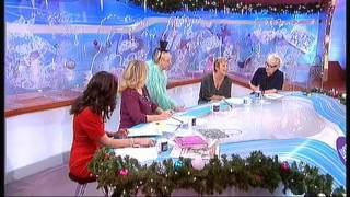 Su Pollard : Loose Women appearance 19th December 2011