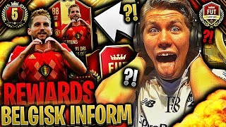 BELGISK INFORM fra FUT CHAMPIONS REWARDS 👹💥 *WEEKEND LEAGUE & PAKKER*