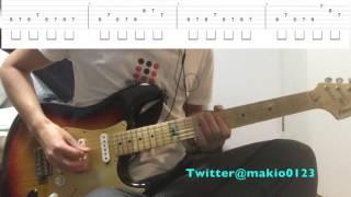 【シルエット(ギターTAB譜付き)】〜テンポ遅めなので練習用にどうぞ〜 thumbnail
