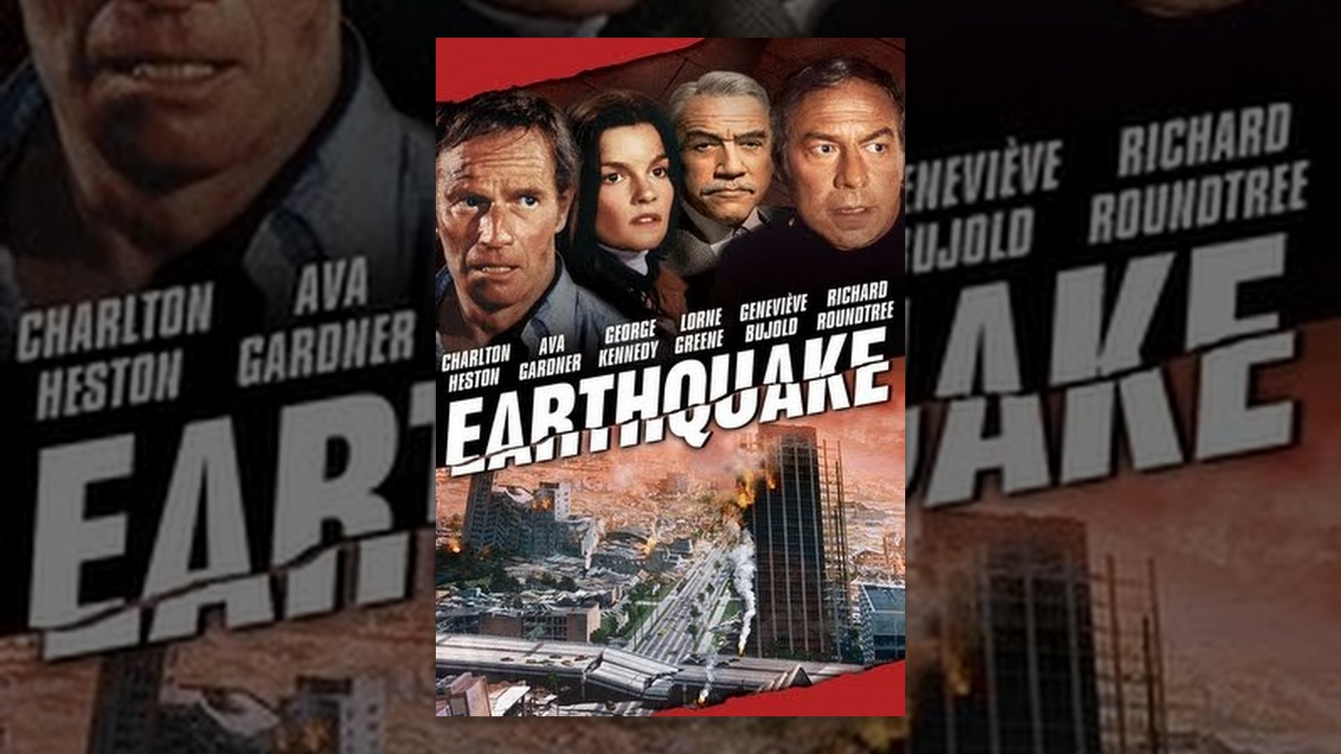 Image result for earthquake the movie  you tube