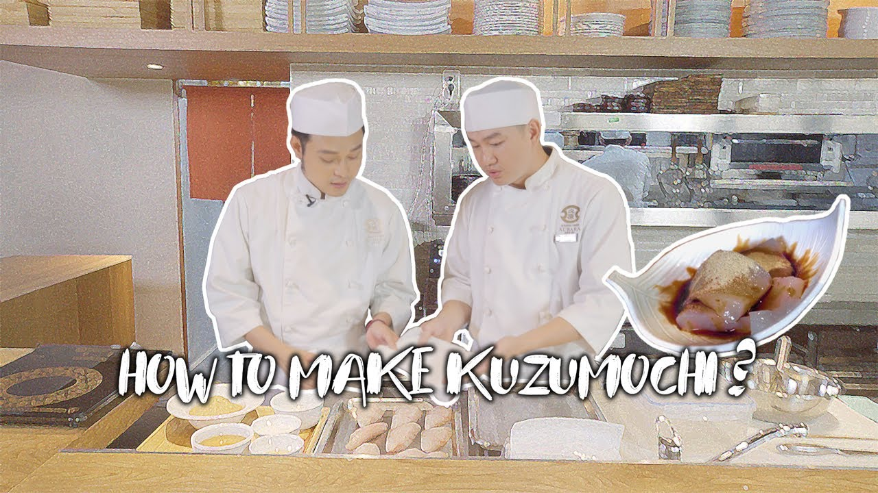 How To Make Kuzumochi - Quang Vinh Passport