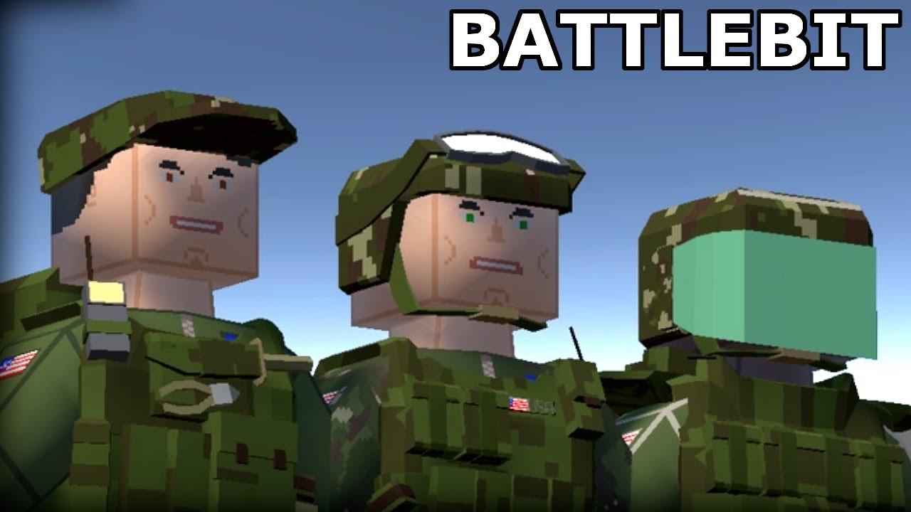 КОМАНДНАЯ ИГРА, НАШ СКВАД УДЕРЖАЛ ВЫСОТУ BattleBit