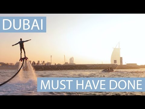 Top Things to do in Dubai 2018 - Dubai travel tips | My personal Top 5