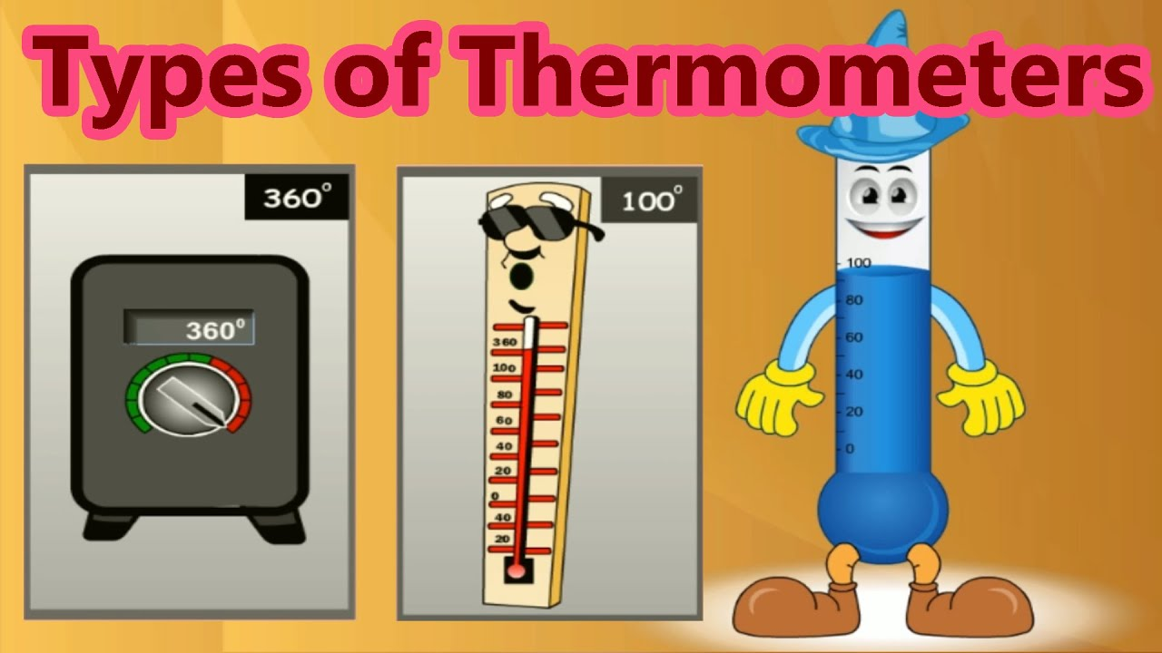 hight resolution of Various Types of Thermometers