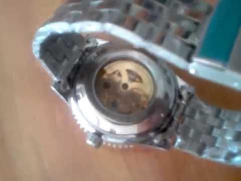 df351365b Reloj Automatico plateado funciona con el movimiento de la mano sin bateria