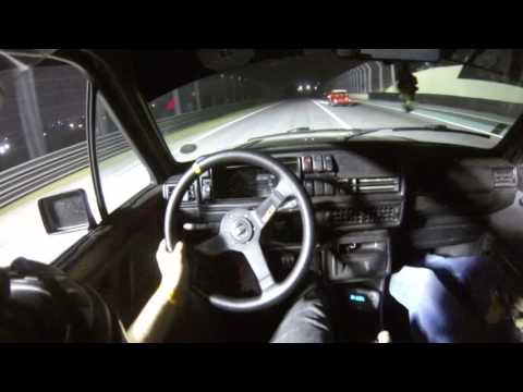 DE CARONA - VW GOLF MK2 TURBO FAST FIX - TRACKNIGHT PETROL EVENT INTERLAGOS