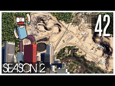 Cities Skylines - S2 Ep.42 : Small Mining Town & More Quarry!