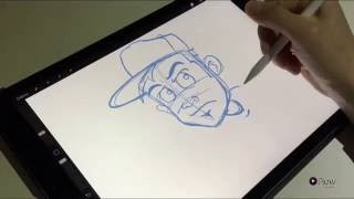 iPad Pro Character Sketch