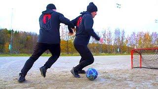 Learn 1 INCREDIBLE Street Football SKILL! ★ (SkillTwins Tutorial)
