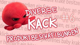 Diverse Kack-Produktbeschreibungen #6