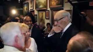 Reinaldo Miravalles cumple 90 y Rolando Díaz lo filma
