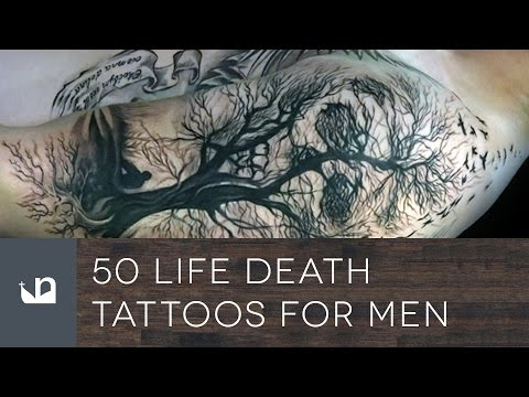 50 Life Death Tattoos For Men