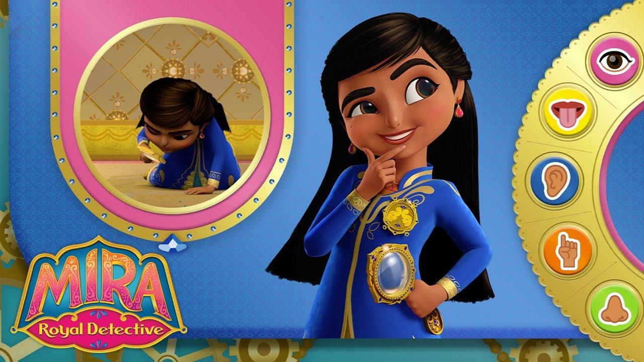 👁Solve Mysteries Using Your 5 Senses | Mira, Royal Detective | Disney Junior UK
