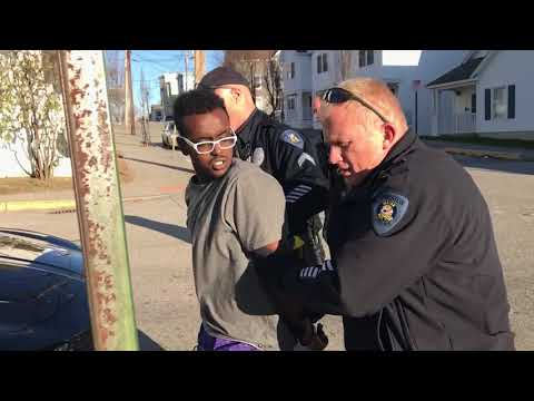 Mouthy Arrest in Lewiston