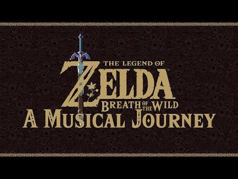 A al Journey through Zelda: Breath of the Wild 45 hours of Soundtrack