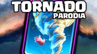 EL TORNADO (PARODIA DE CLASH ROYALE) | Dragon Ball Z Kai Opening | GiovaGames