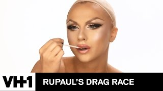Drag Makeup Tutorial: Farrah Moan's Hurried Hotness | RuPaul's Drag Race Season 9 | Now on VH1