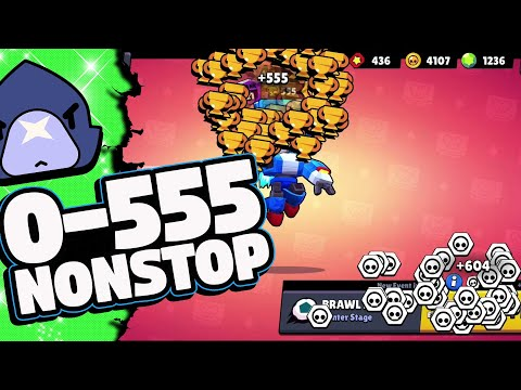 Crow NonStop with Randoms | Over 60 wins straight in Brawl Ball