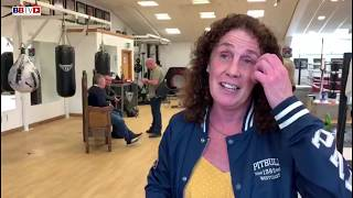 JANE COUCH MBE: PAYS A SPECIAL VISIT TO RICKY HATTON MBE AT HIS GYM (PART1)