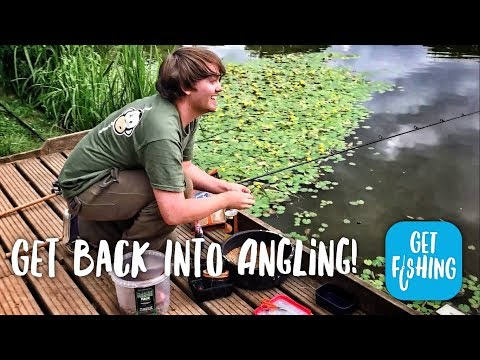 Get Back Into Angling - free fishing lessons from the Angling Trust