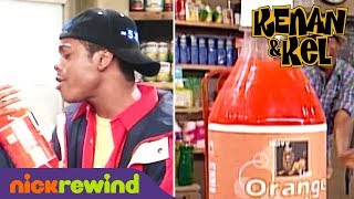 Who Loves Orange Soda?! Kel Mitchell Does! | Kenan & Kel | NickRewind